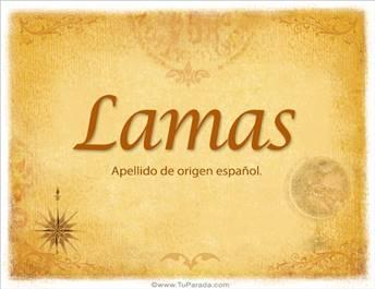Origen y significado de Lamas