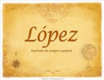 Origen y significado de López