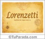 Origen y significado de Lorenzetti