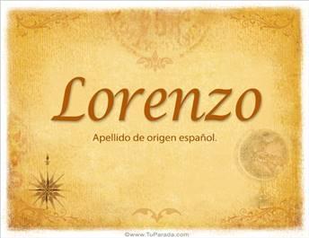 Origen y significado de Lorenzo