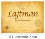 Origen y significado de Lajtman