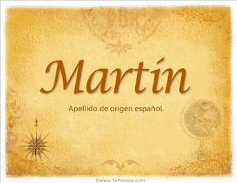 Origen y significado de Martín