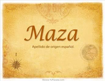 Origen y significado de Maza