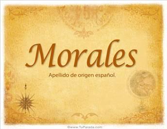 Origen y significado de Morales