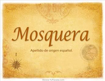 Origen y significado de Mosquera