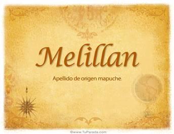 Origen y significado de Melillan