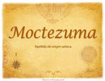 Origen y significado de Moctezuma