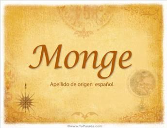 Origen y significado de Monge