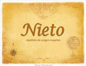 Origen y significado de Nieto