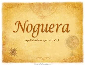 Origen y significado de Noguera