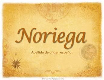 Origen y significado de Noriega