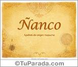 Ñanco