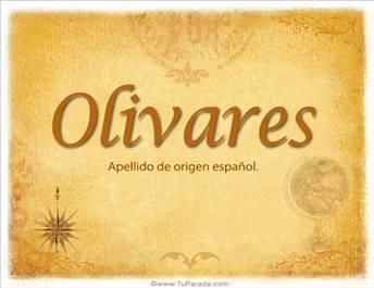 Origen y significado de Olivares