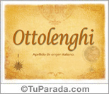 Origen y significado de Ottolenghi