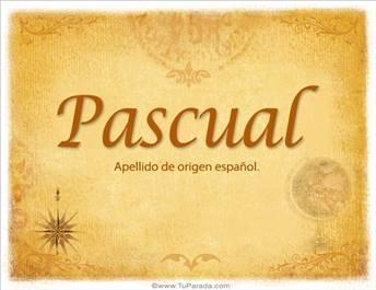 Origen y significado de Pascual