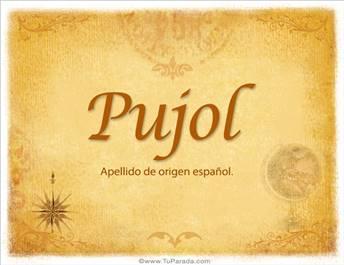 Origen y significado de Pujol