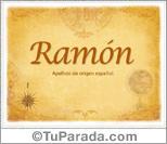 Origen y significado de Ramón