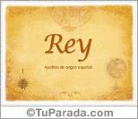 Origen y significado de Rey
