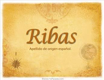 Origen y significado de Ribas