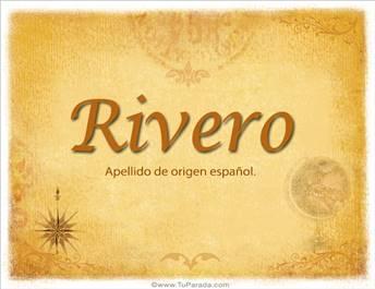 Origen y significado de Rivero