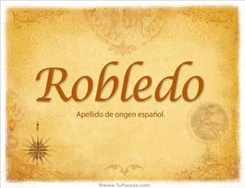 Origen y significado de Robledo