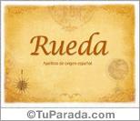 Origen y significado de Rueda