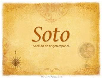 Origen y significado de Soto