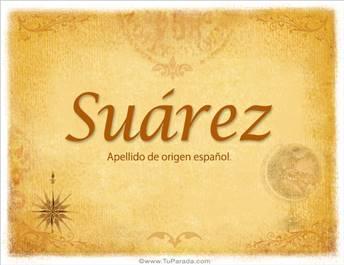 Origen y significado de Suárez