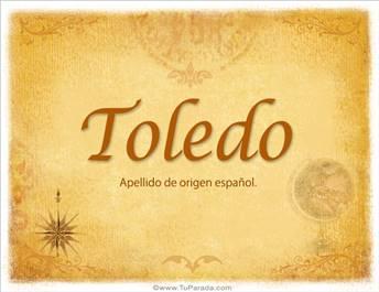 Origen y significado de Toledo