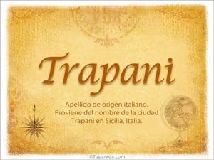 Origen y significado de Trapani