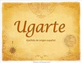 Origen y significado de Ugarte