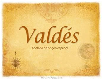 Origen y significado de Valdés