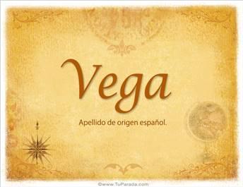 Origen y significado de Vega