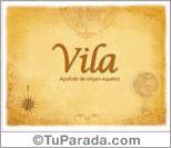 Origen y significado de Vila
