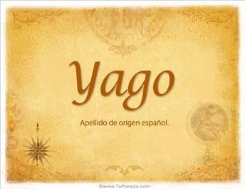 Origen y significado de Yago