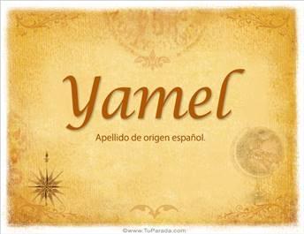 Origen y significado de Yamel