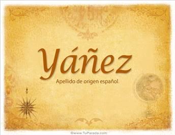 Origen y significado de Yáñez