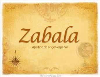 Origen y significado de Zabala