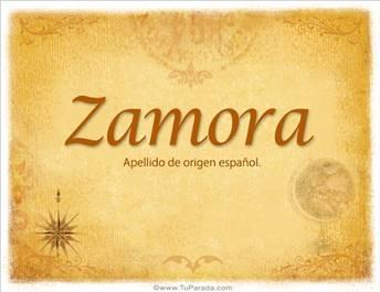 Origen y significado de Zamora