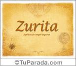 Origen y significado de Zurita