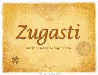 Origen y significado de Zugasti