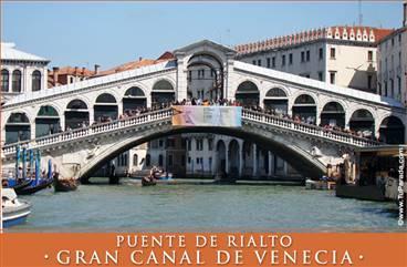 Foto del Puente de Rialto - El Gran Canal