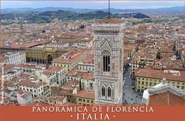Foto panorámica de Florencia - Italia