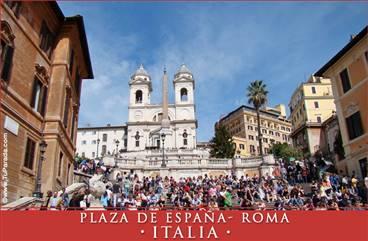 Foto de la Plaza de España - Roma