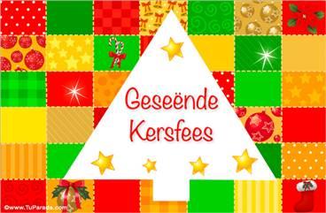 Tarjetas, postales: Navidad en africano