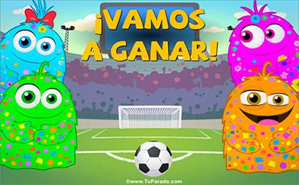 Tarjeta de Mundial de fútbol