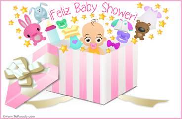 Baby Shower para mujer en caja sorpresa