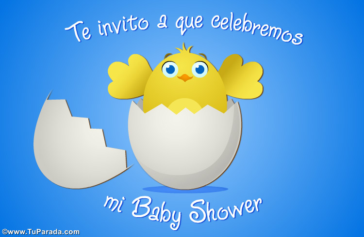 Ecard De Baby Shower Para Niño Baby Shower Tarjetas