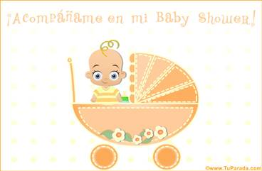 Invitación de Baby Shower
