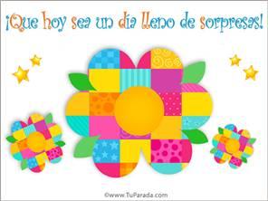 Imagen con flor y colores